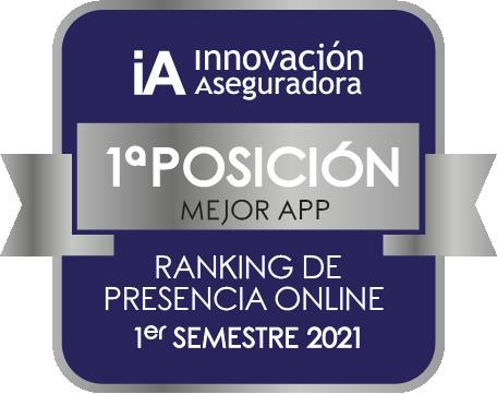 Premio a la mejora App 1º semestre de 2021